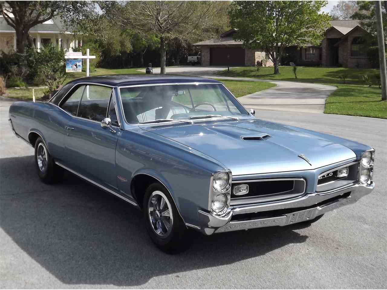 1966 pontiac gto for sale cc 1051270. Black Bedroom Furniture Sets. Home Design Ideas