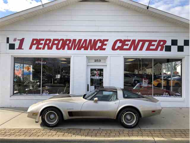Picture of 1982 Chevrolet Corvette Offered by 1 Performance Center Racing - MJE3