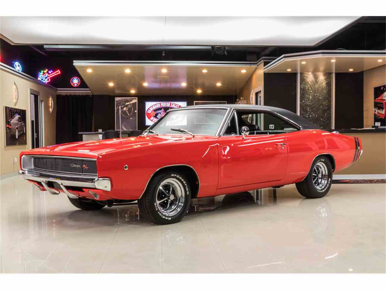 1968 dodge charger r t for sale cc 1051568. Black Bedroom Furniture Sets. Home Design Ideas