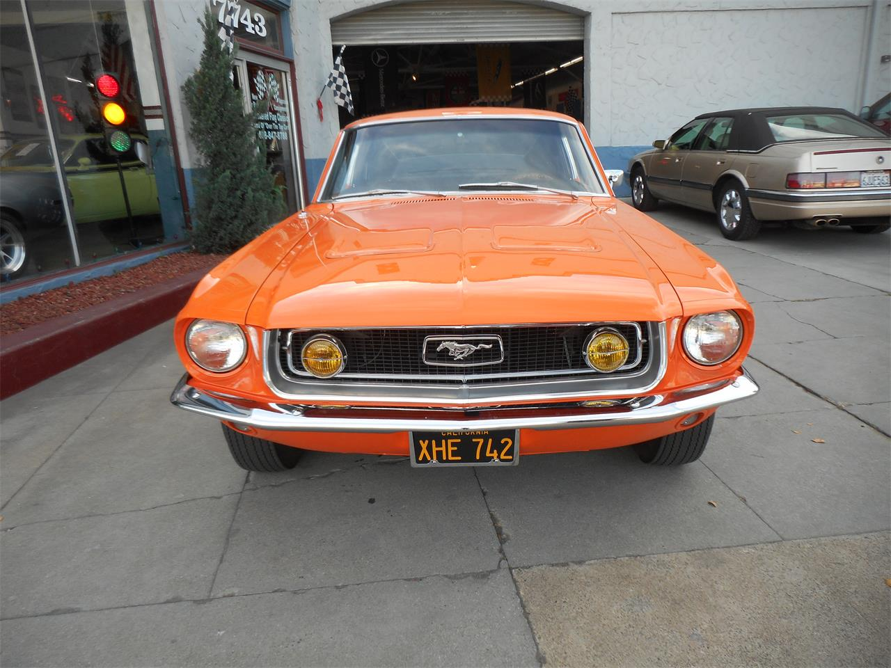 Large Picture of '68 Mustang - MJFQ