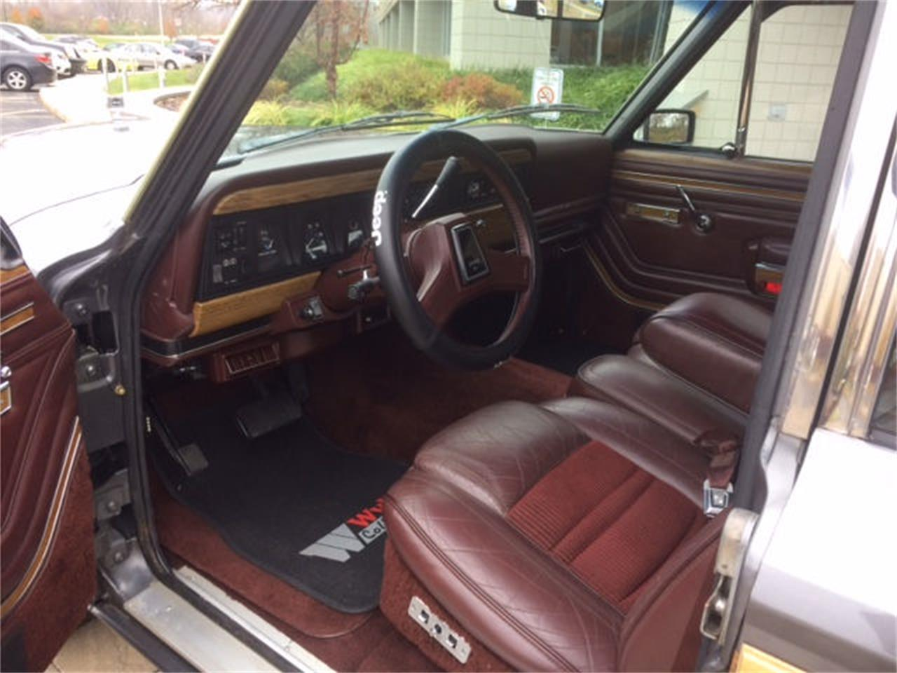 Large Picture of '89 Grand Wagoneer - MIBH