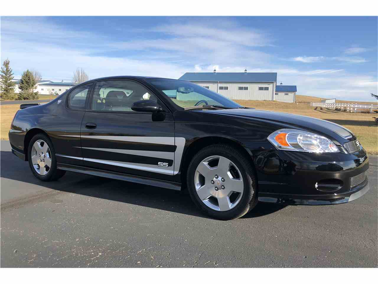 2007 chevrolet monte carlo ss for sale cc 1051749. Black Bedroom Furniture Sets. Home Design Ideas