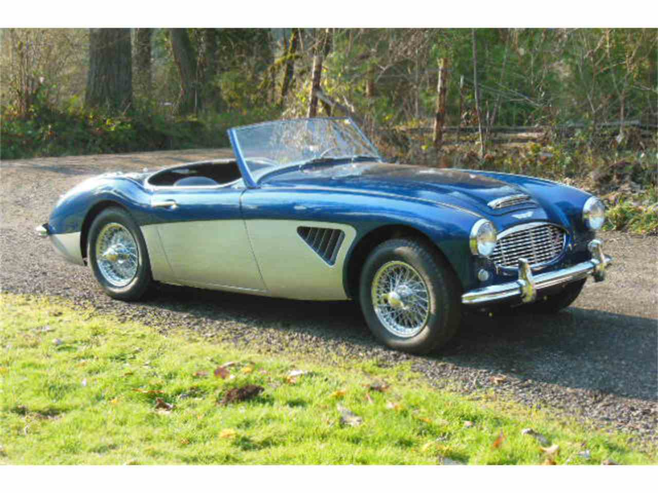 1960 austin healey 3000 for sale cc 1051797. Black Bedroom Furniture Sets. Home Design Ideas