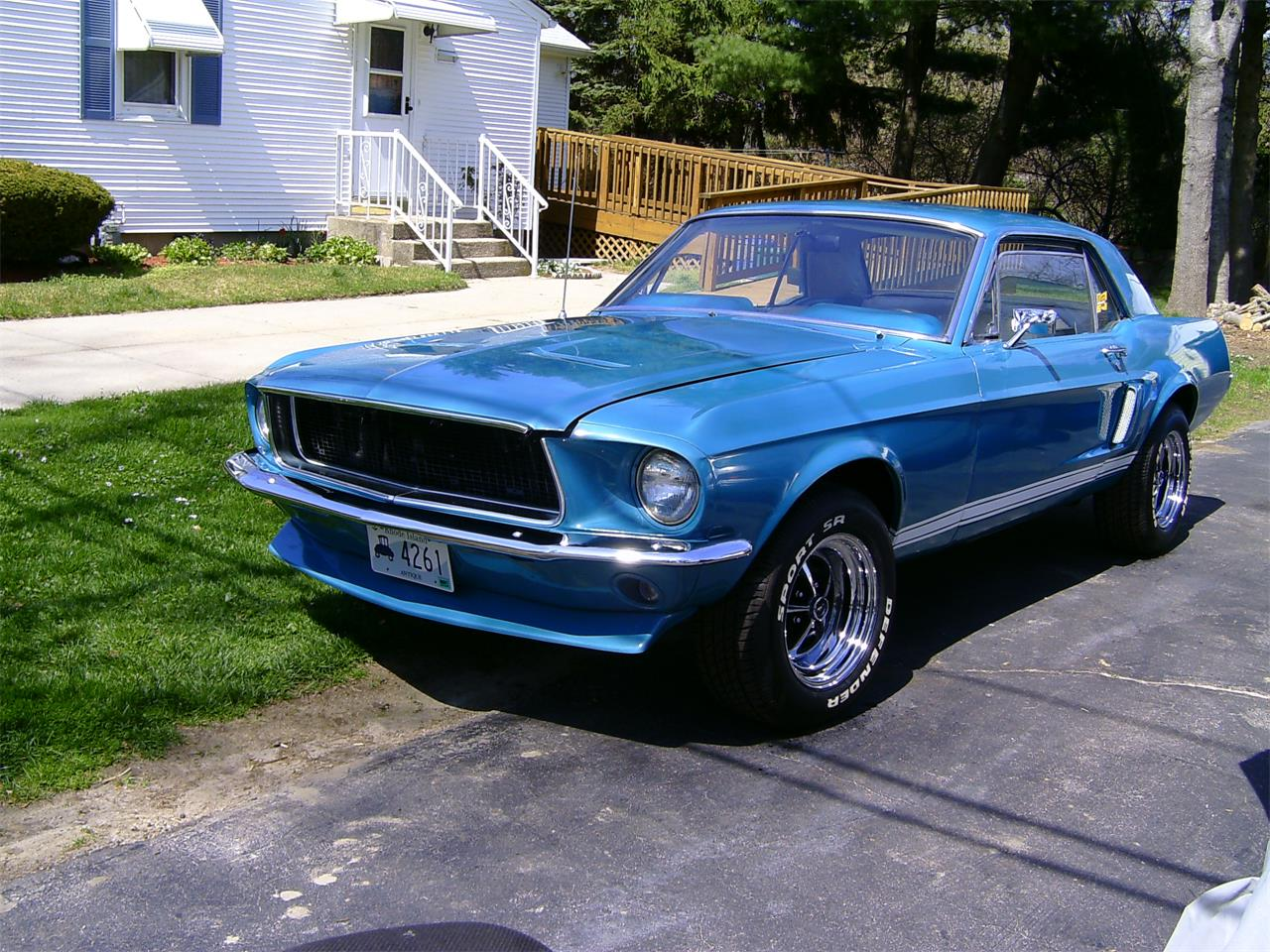 1968 ford mustang for sale cc 1052037. Black Bedroom Furniture Sets. Home Design Ideas
