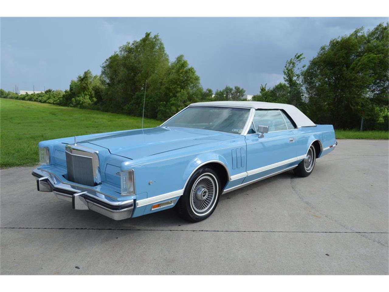 Large Picture of 1978 Lincoln Mark V located in Houston Texas - $12,500.00 - MJRO