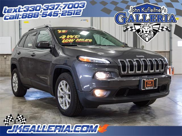 Picture of 2015 Jeep Cherokee located in Salem Ohio Auction Vehicle - MJX1