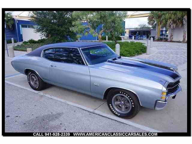 Picture of '71 Chevrolet Chevelle Offered by American Classic Car Sales - MJYN