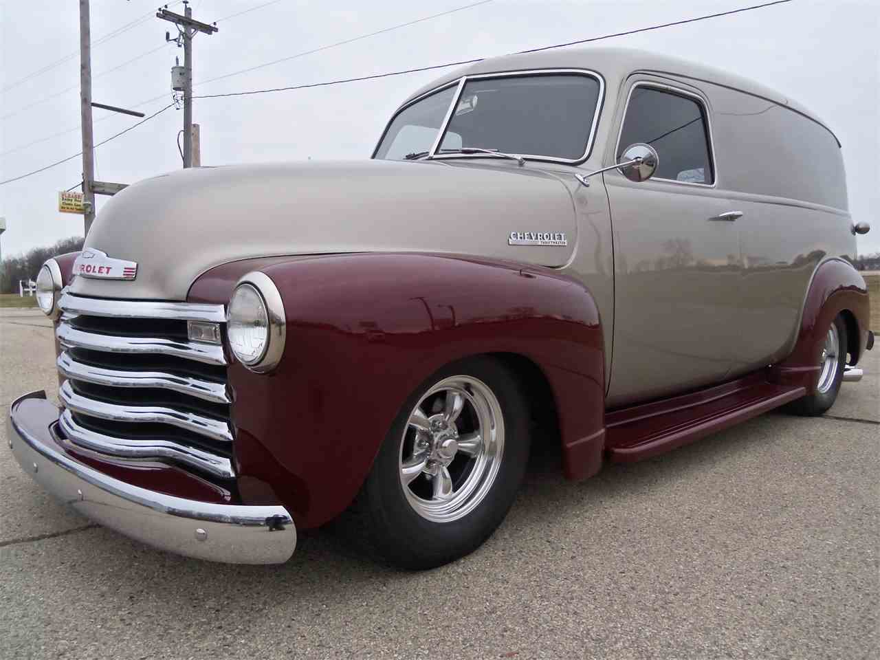 1948 chevrolet panel truck for sale cc 1052403. Black Bedroom Furniture Sets. Home Design Ideas