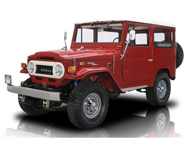 1970 to 1972 toyota land cruiser for sale on classiccars com rh classiccars com Toyota Land Cruiser FJ40 Toyota Land Cruiser FJ55