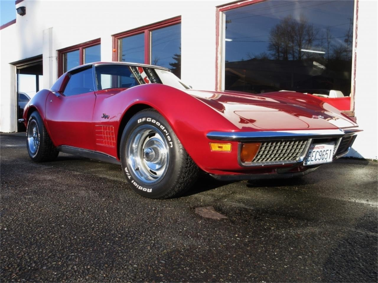 Large Picture of Classic 1972 Chevrolet Corvette located in Tocoma Washington - MKA0