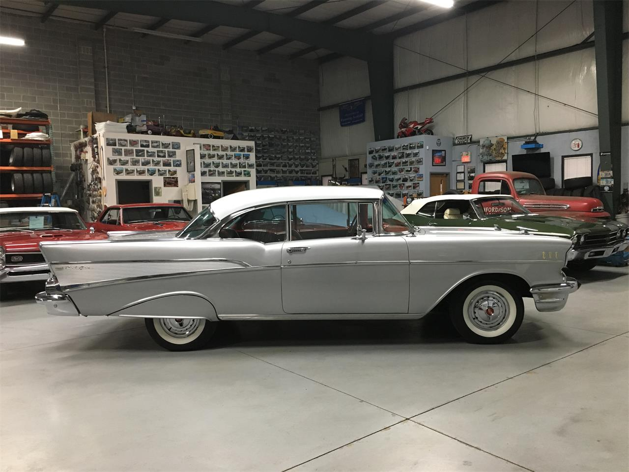 Large Picture of 1957 Bel Air located in Ohio - $46,900.00 Offered by BlueLine Classics - MKKZ