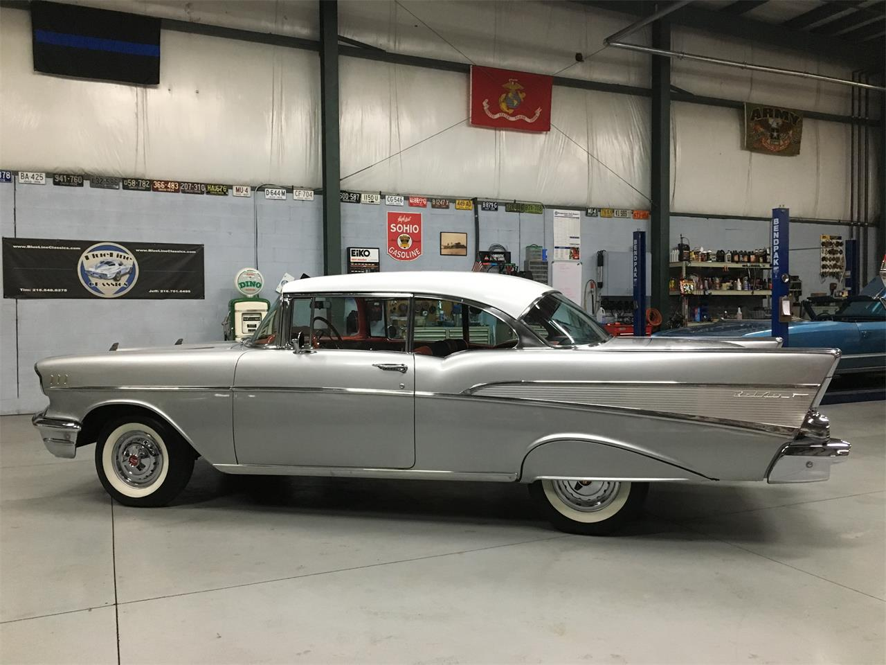 Large Picture of Classic 1957 Chevrolet Bel Air Offered by BlueLine Classics - MKKZ
