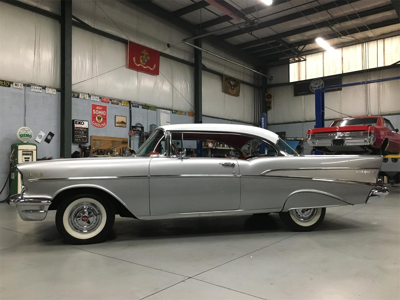 Large Picture of '57 Chevrolet Bel Air located in North Royalton Ohio - $46,900.00 Offered by BlueLine Classics - MKKZ