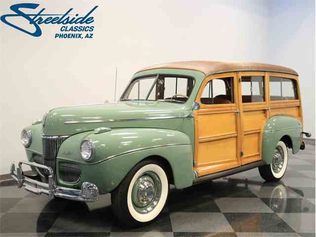 Picture of '41 Super Deluxe Woody Wagon - MKT8