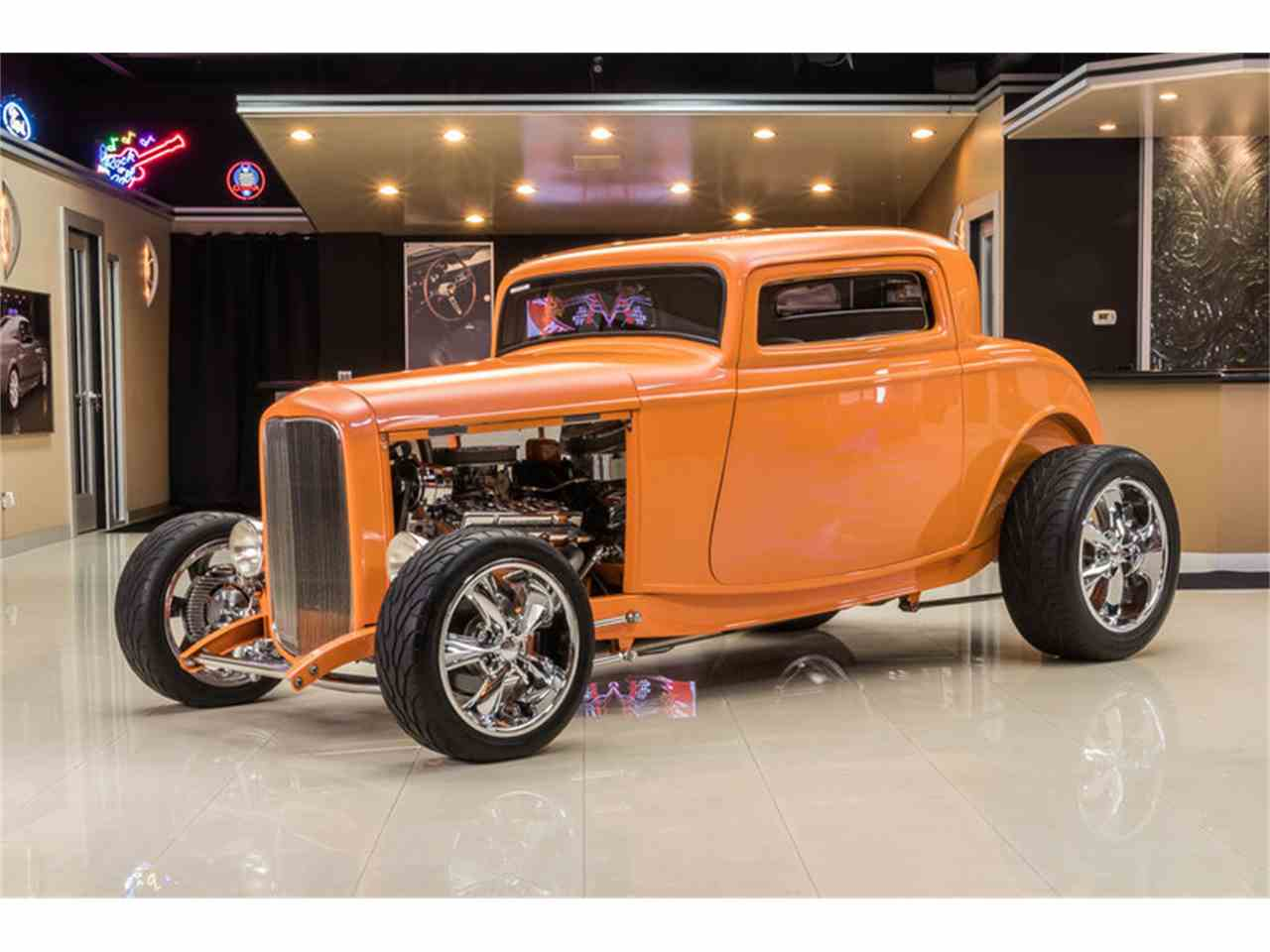 1932 Ford 3-Window Coupe Street Rod for Sale | ClassicCars.com ...