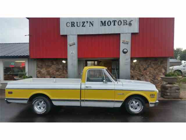 Picture of Classic '71 C/K 10 located in Spirit Lake Iowa Auction Vehicle Offered by Cruz'n Motors - MKW9