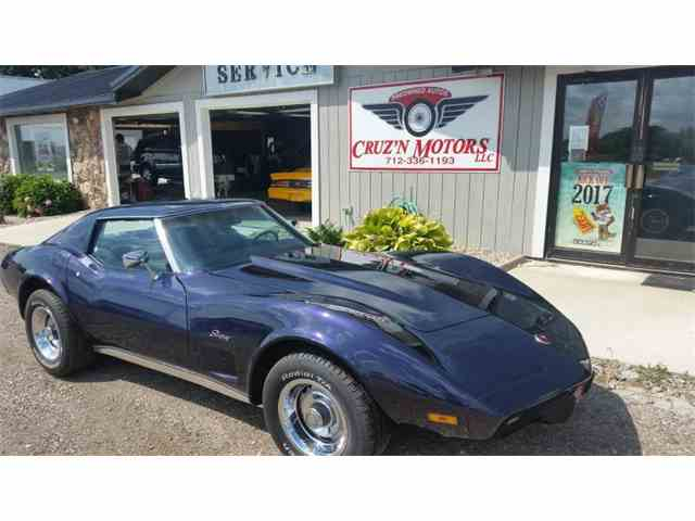 Picture of '75 Corvette located in Spirit Lake Iowa Auction Vehicle - MKWA