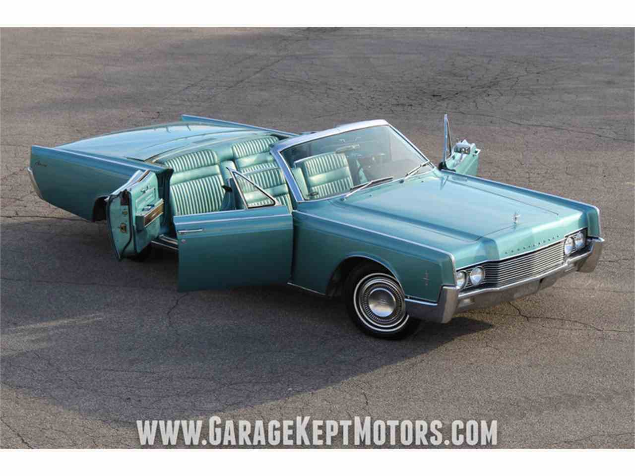 1966 lincoln continental 4 door convertible for sale cc 1053540. Black Bedroom Furniture Sets. Home Design Ideas