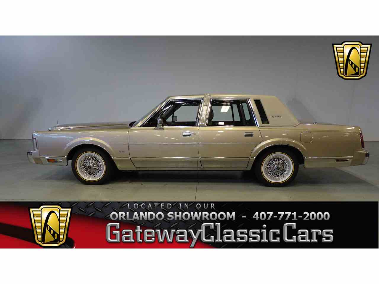 1988 Lincoln Town Car for Sale | ClassicCars.com | CC-1053745