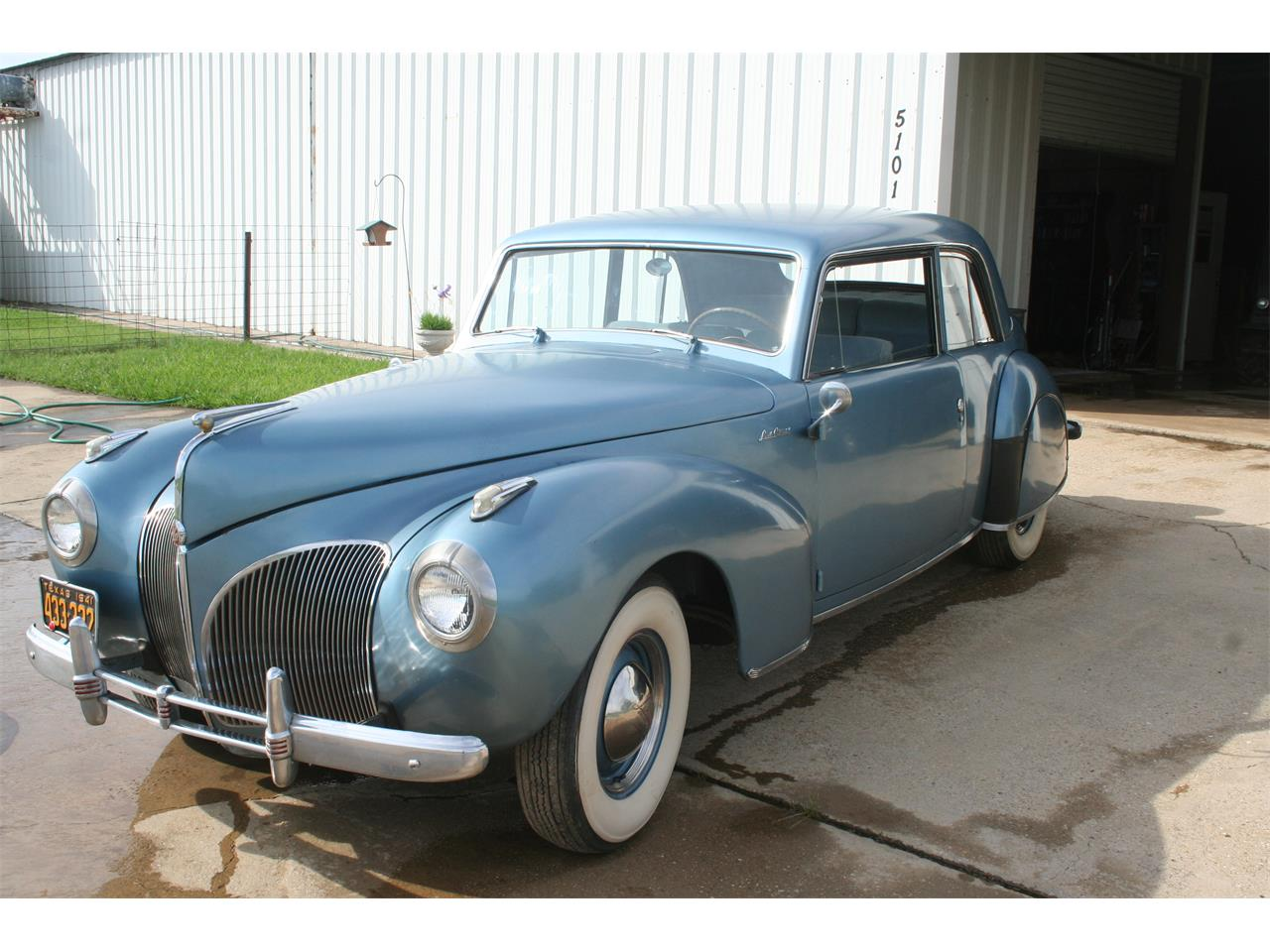 1941 Lincoln Continental For Sale Cc 1054196 Interior Large Picture Of 41 Mlf8