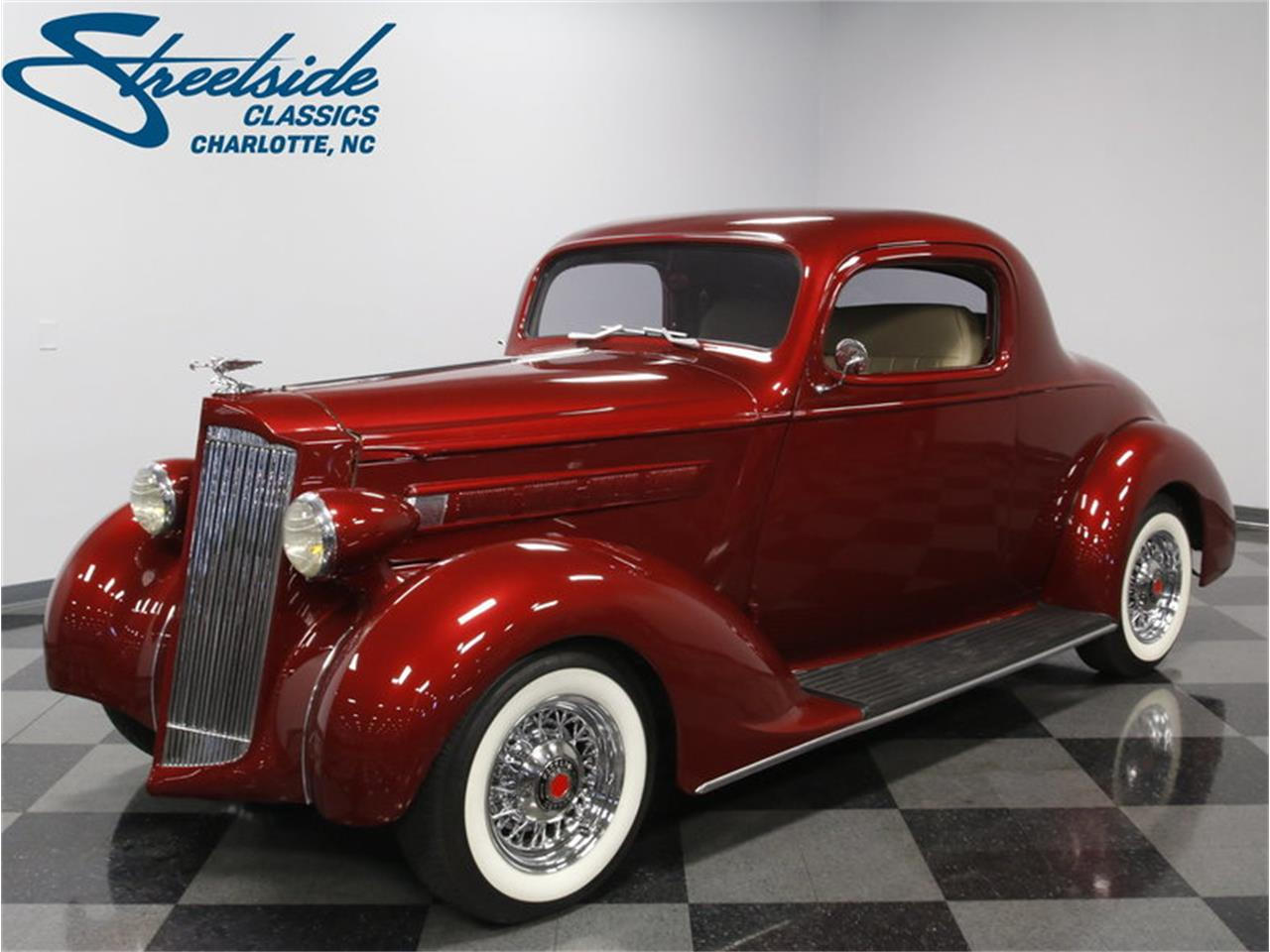 1937 Packard 115 Business Coupe Restomod in Concord, North Carolina