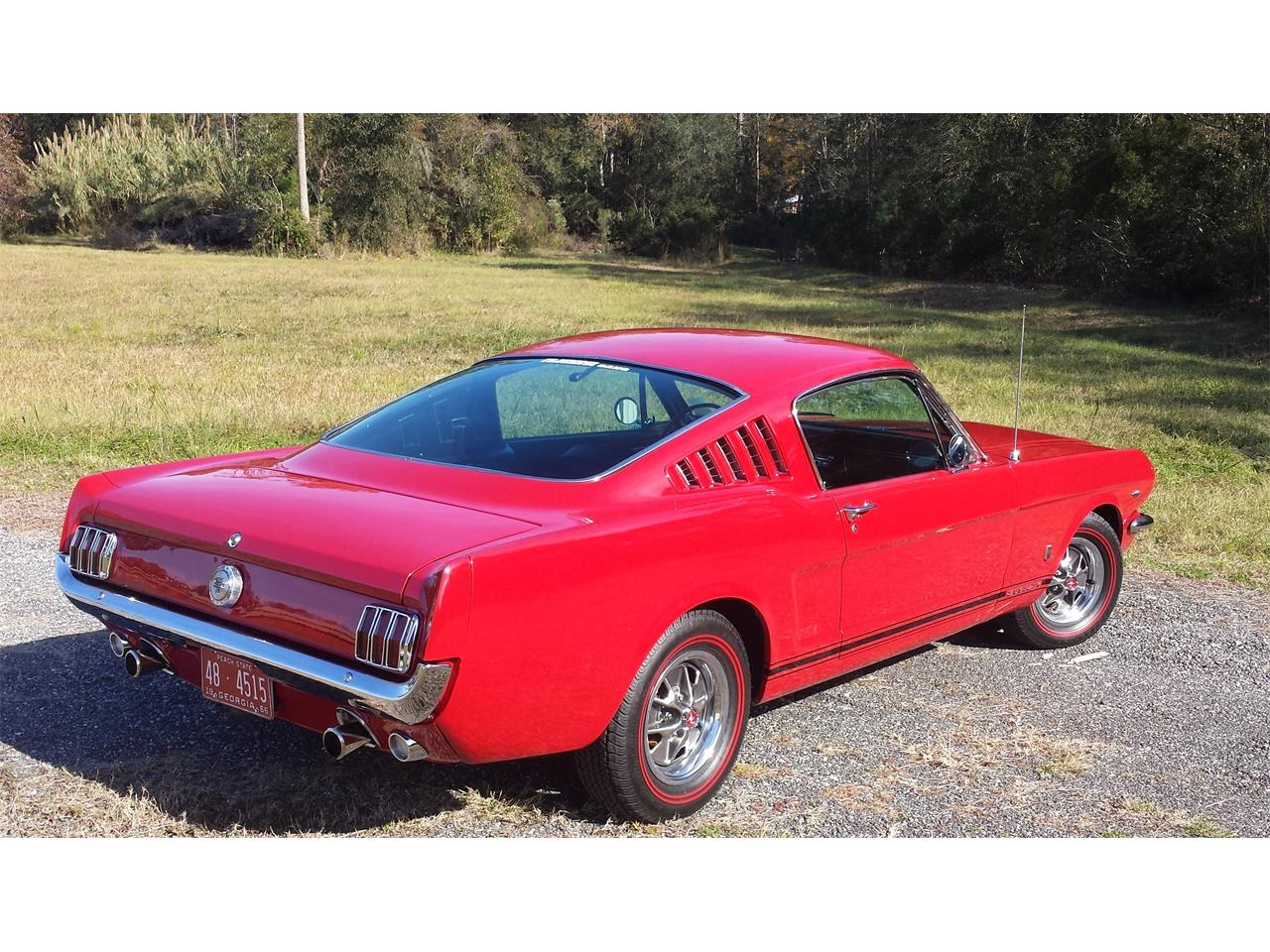 Large Picture of '66 Mustang GT - MLNY