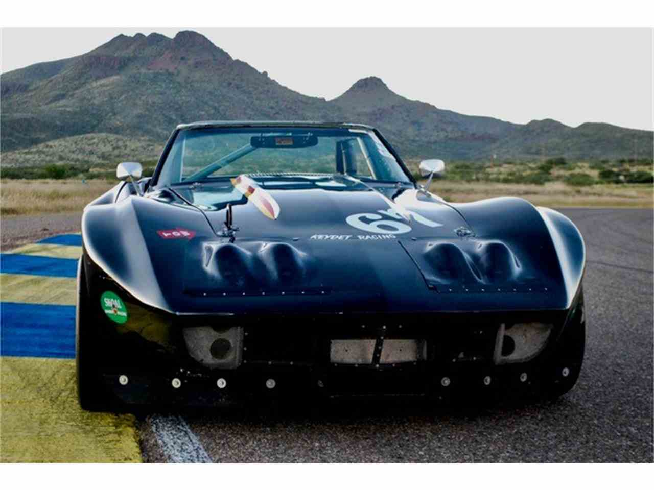 1969 corvette race car for sale cc 1054660. Black Bedroom Furniture Sets. Home Design Ideas