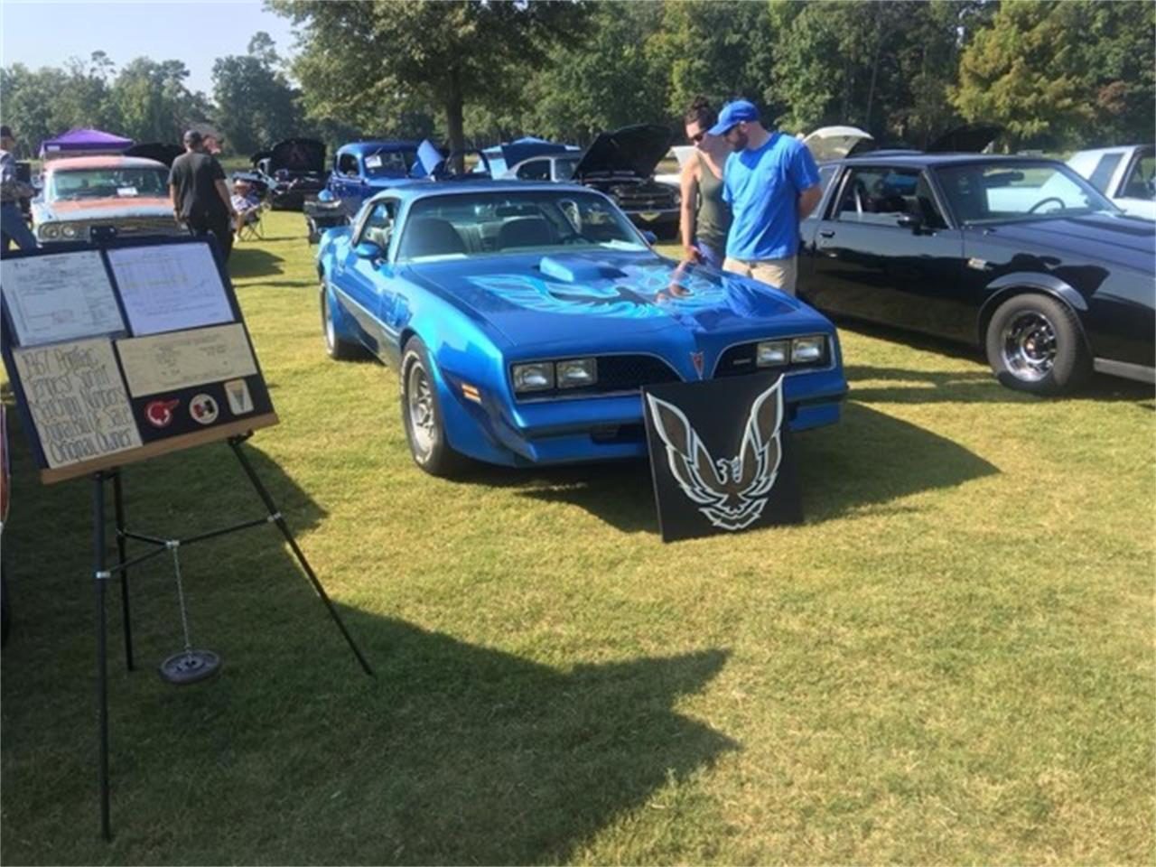 Large Picture of 1978 Pontiac Firebird Trans Am located in Wilson Oklahoma Offered by Red Line Auto Sports - MIJT