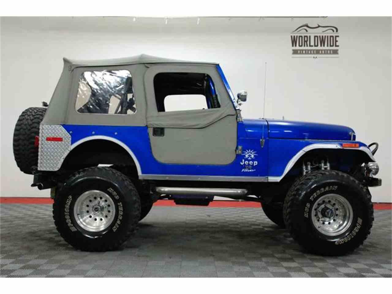 1976 jeep cj7 for sale cc 1055116. Black Bedroom Furniture Sets. Home Design Ideas