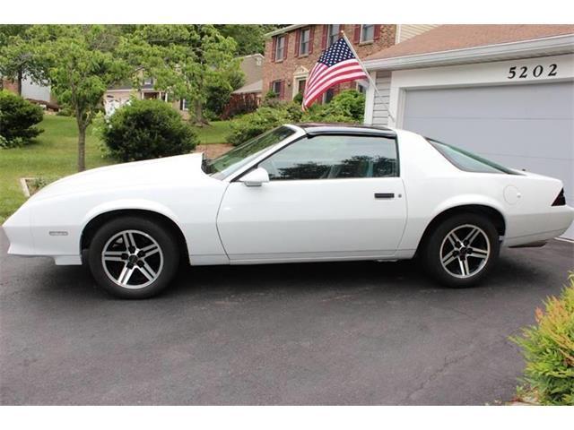 1984 Chevrolet Camaro For Sale On Classiccars Com