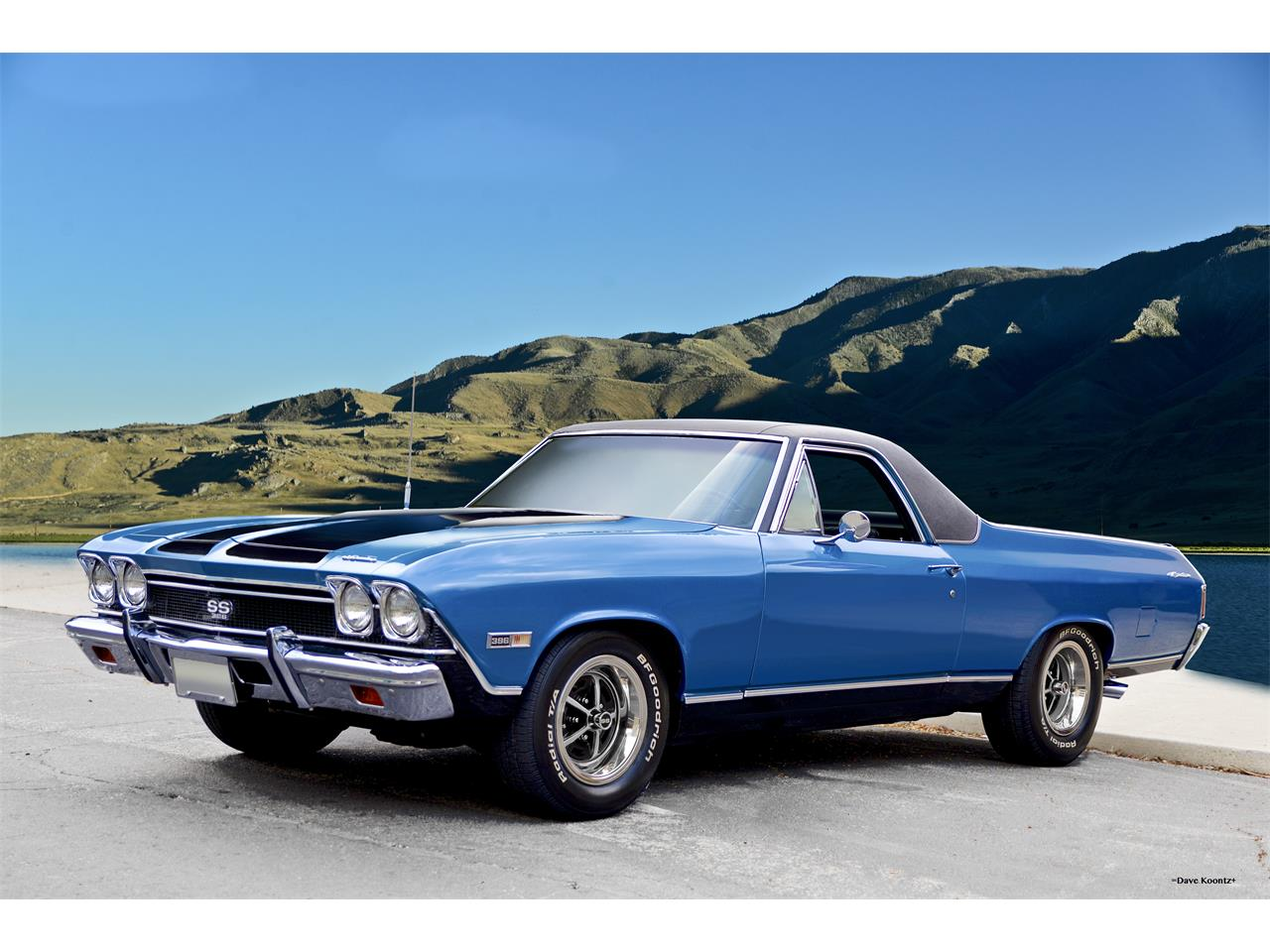 1968 chevrolet el camino ss for sale cc 1055473. Black Bedroom Furniture Sets. Home Design Ideas