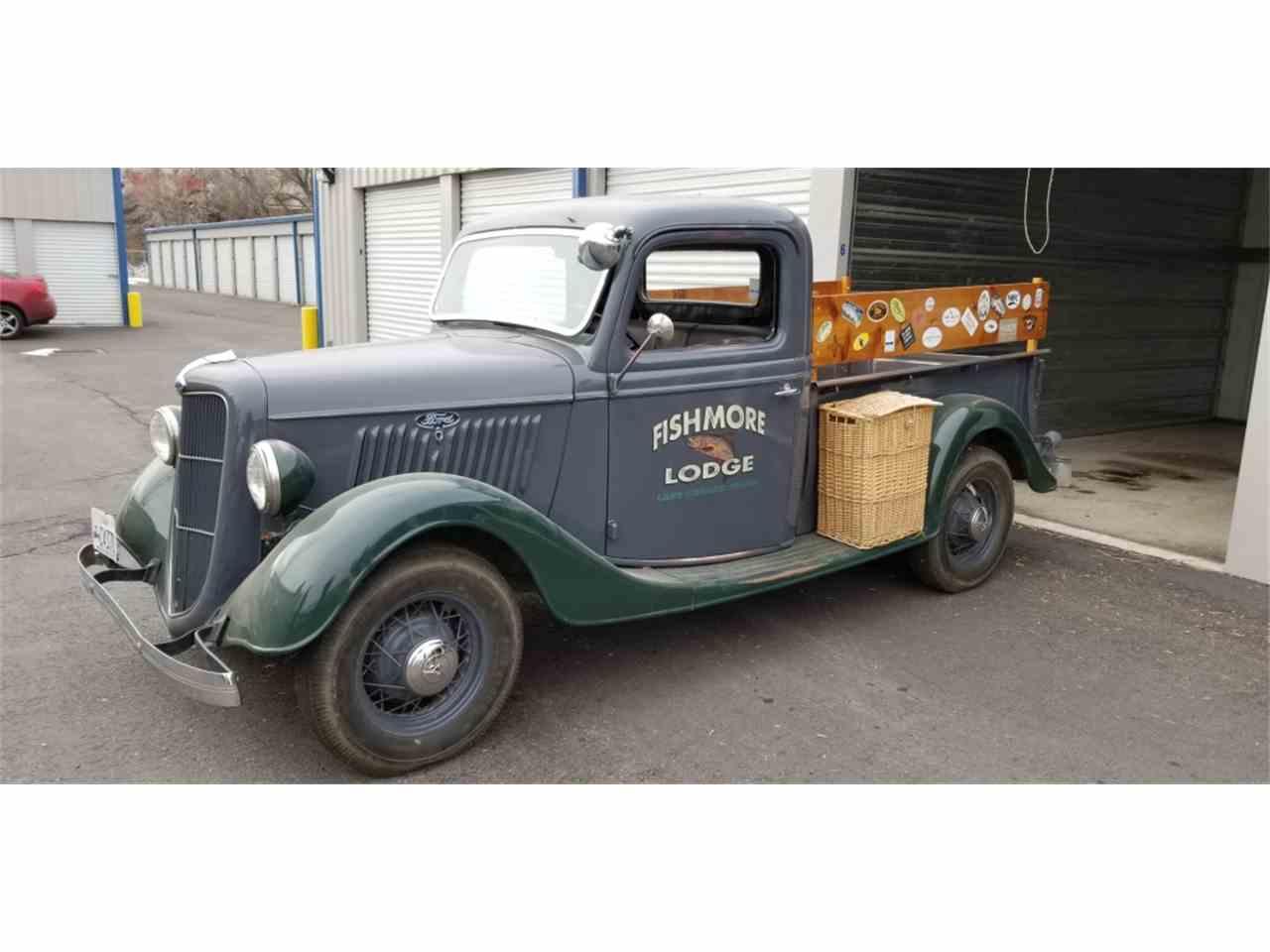 1935 ford pickup for sale cc 1055686. Black Bedroom Furniture Sets. Home Design Ideas