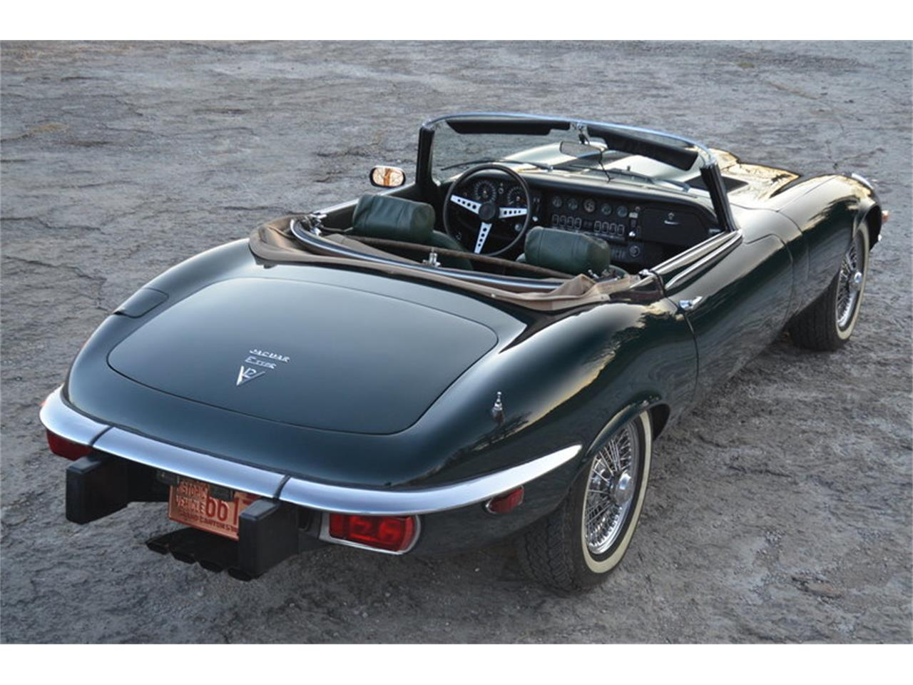 Large Picture of '74 Jaguar E-Type located in Tennessee - $72,500.00 Offered by Frazier Motor Car Company - MMOP