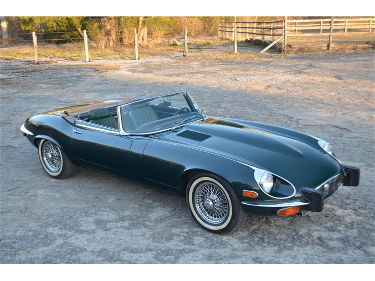 Large Picture of 1974 Jaguar E-Type located in Lebanon Tennessee Offered by Frazier Motor Car Company - MMOP