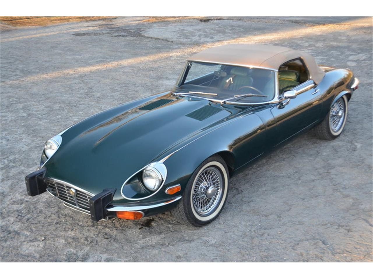 Large Picture of 1974 Jaguar E-Type located in Lebanon Tennessee - MMOP