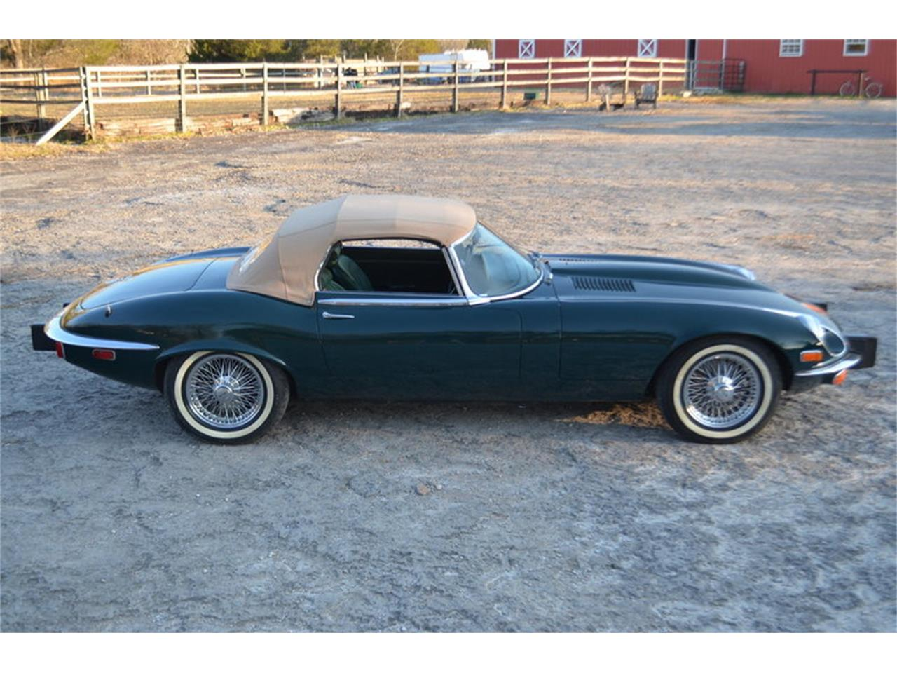 Large Picture of 1974 Jaguar E-Type located in Tennessee - $72,500.00 Offered by Frazier Motor Car Company - MMOP