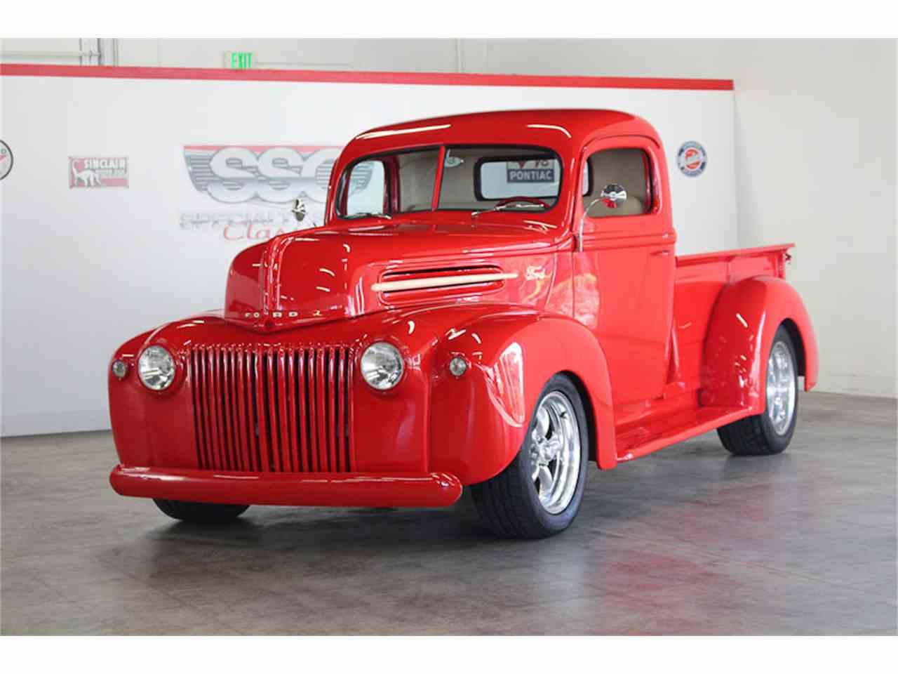 1946 ford pickup for sale cc 1050589. Black Bedroom Furniture Sets. Home Design Ideas