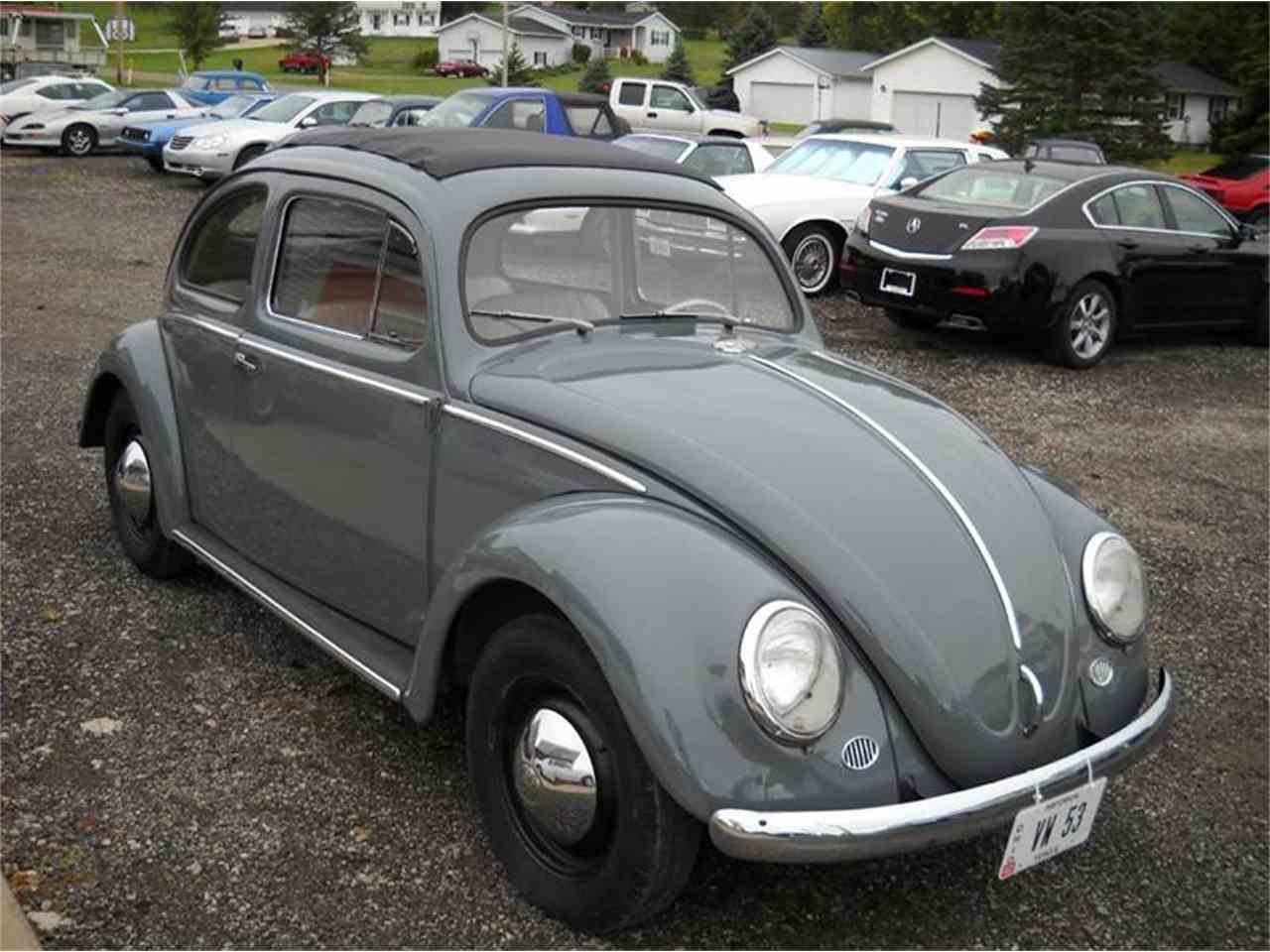 1953 Volkswagen Beetle For Sale Classiccars Com Cc 1056068