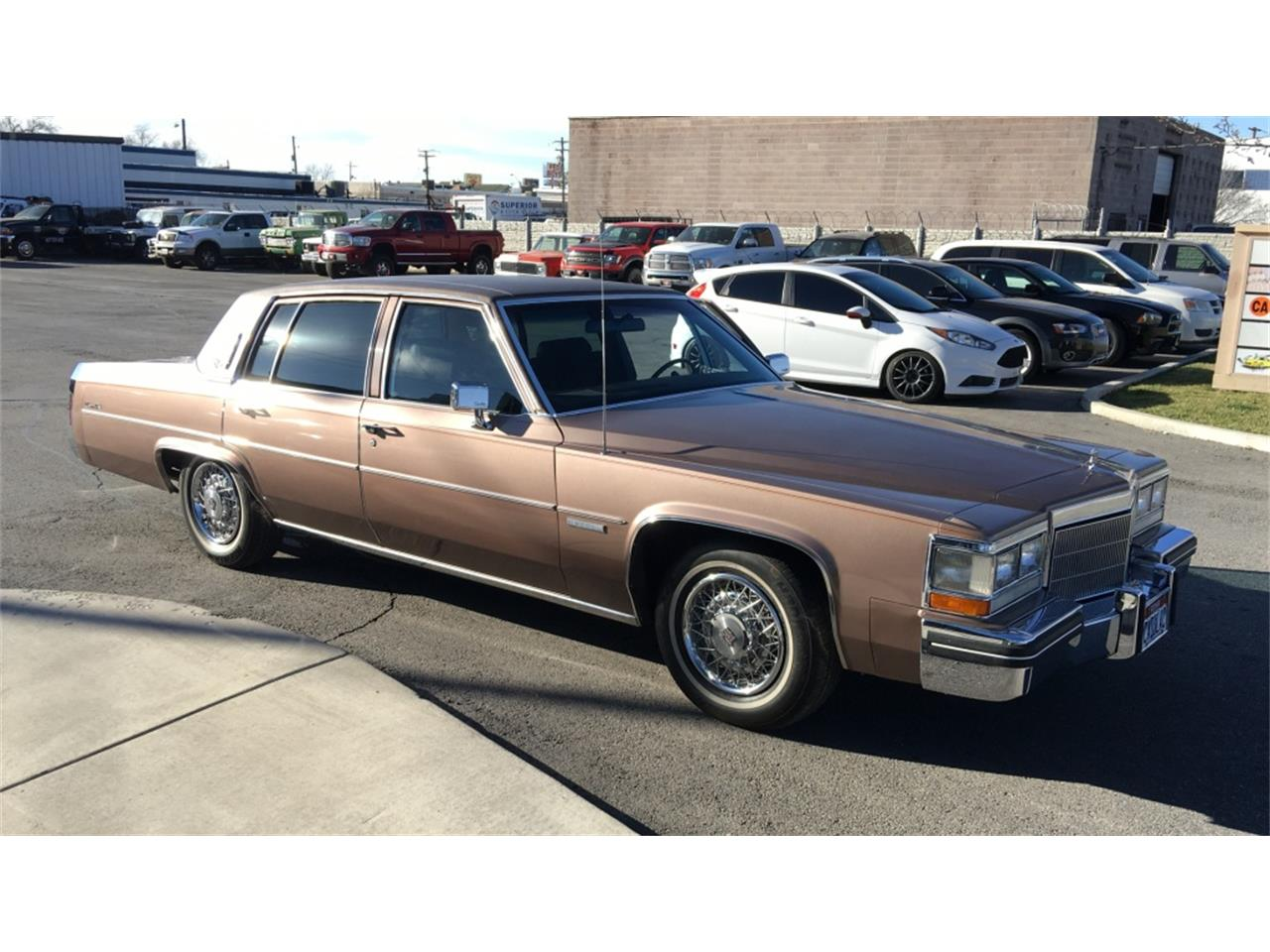 1983 Cadillac Sedan Deville For Sale Classiccars Com