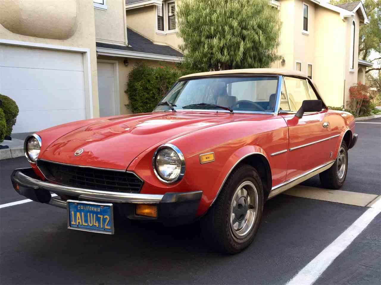1980 Fiat Spider for Sale | ClicCars.com | CC-1056135