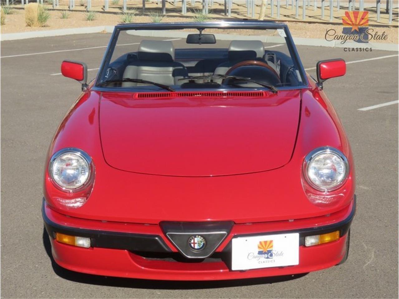 1989 Alfa Romeo Spider Quadrifolgio For Sale Cc Large Picture Of 89 Mn0t