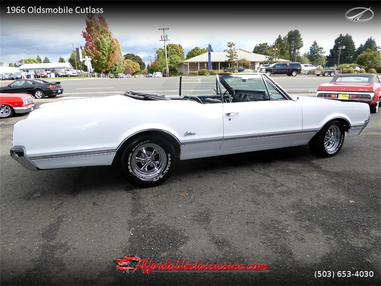 Large Picture of Classic 1966 Oldsmobile Cutlass located in Gladstone Oregon Offered by Affordable Classics Inc - MN4C