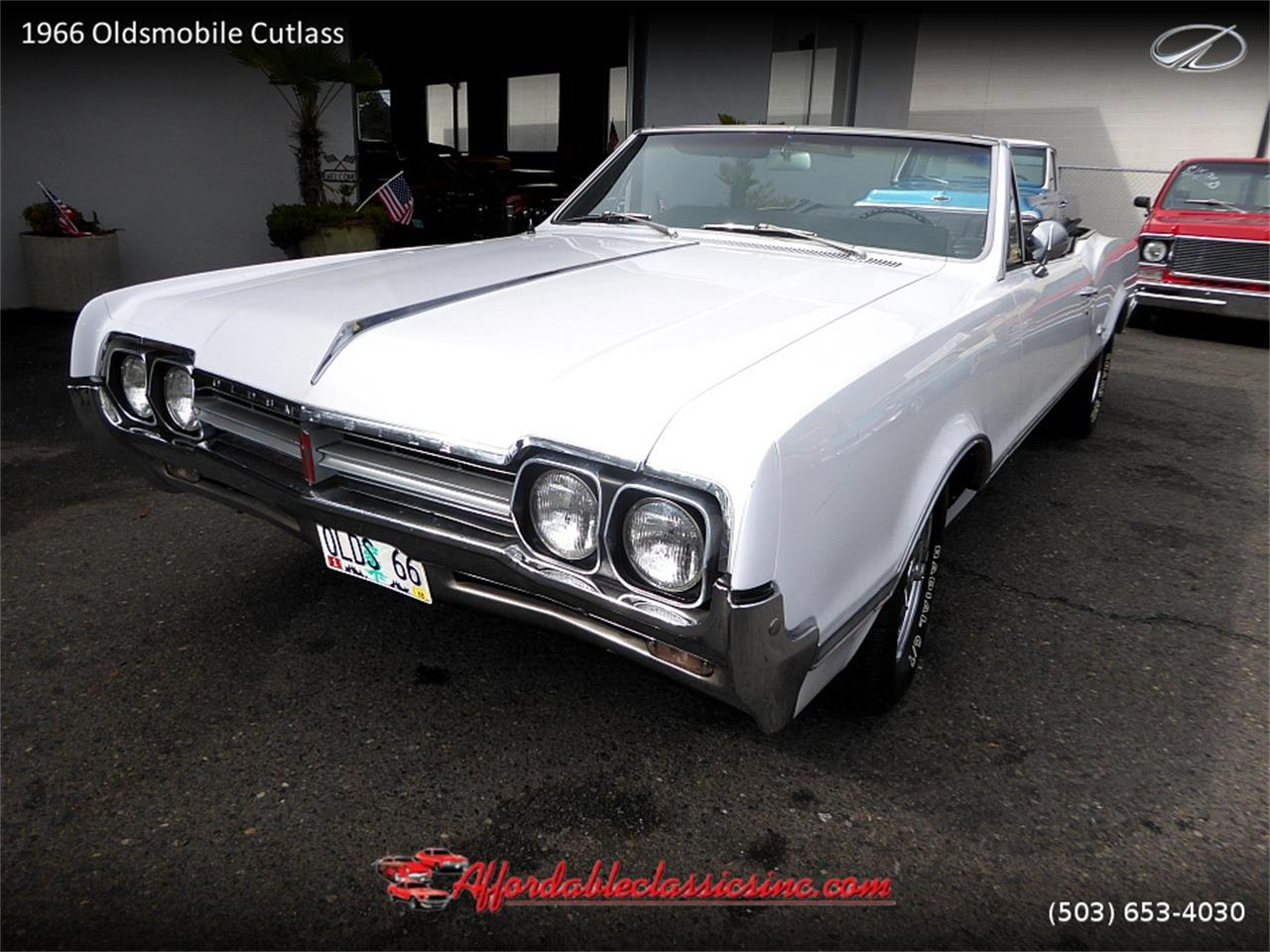 Large Picture of Classic 1966 Oldsmobile Cutlass located in Gladstone Oregon - $25,500.00 - MN4C