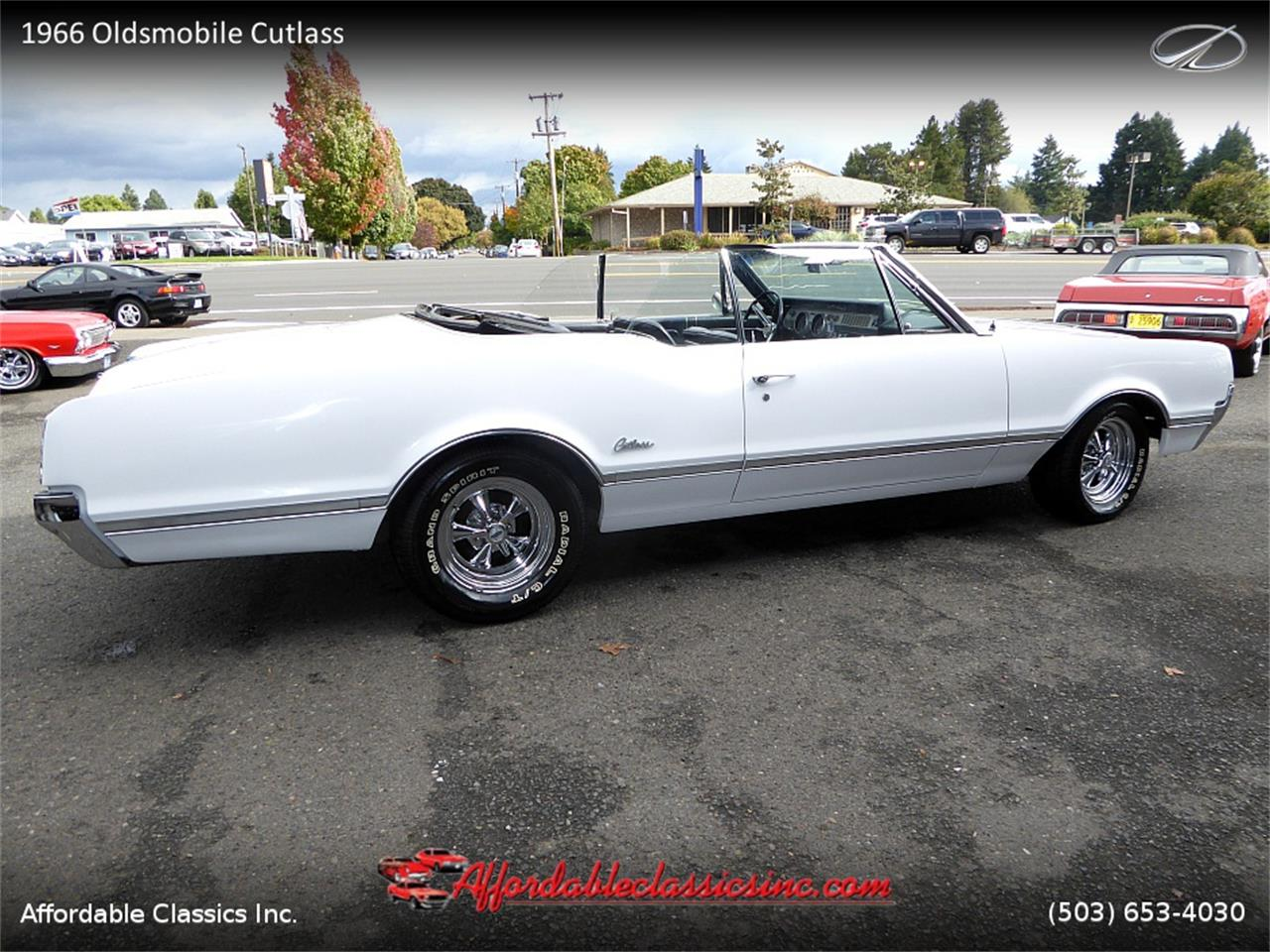 Large Picture of '66 Oldsmobile Cutlass located in Oregon - $25,500.00 Offered by Affordable Classics Inc - MN4C