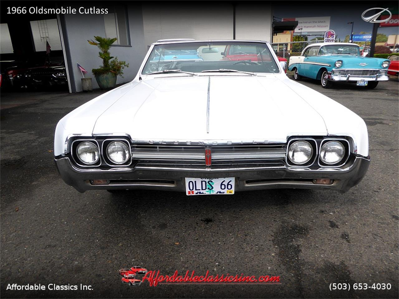 Large Picture of Classic 1966 Oldsmobile Cutlass Offered by Affordable Classics Inc - MN4C