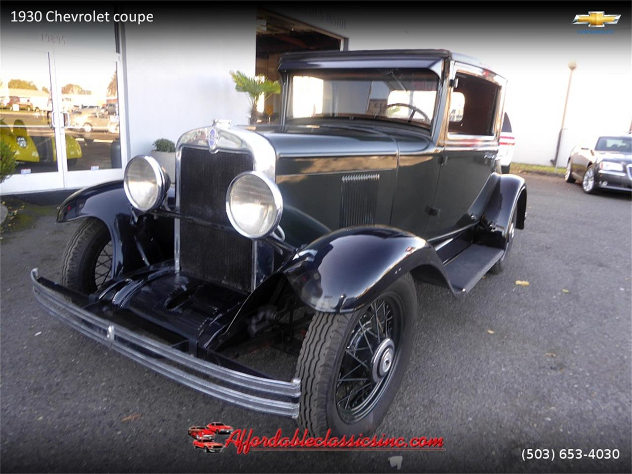 1930 Chevrolet Coupe For Sale Cc 1056418 Chevy Wiring Large Picture Of 30 Mn4y