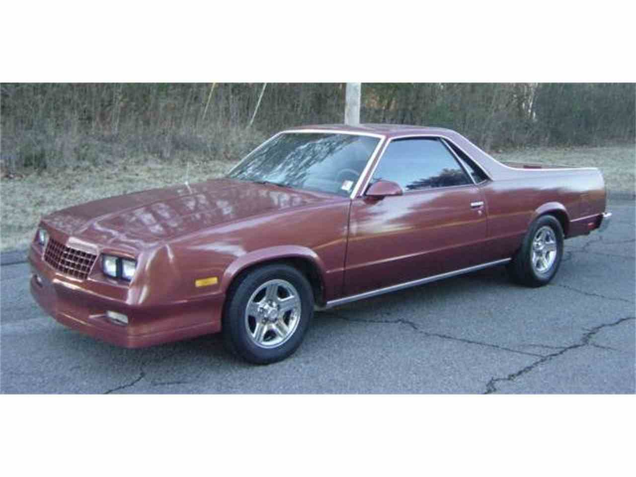 Large Picture of '86 El Camino - MNEH