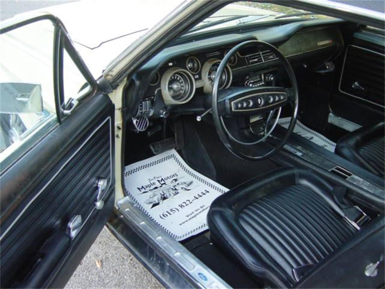 Large Picture of Classic 1968 Ford Mustang located in Hendersonville Tennessee - $14,900.00 Offered by Maple Motors - MNEO