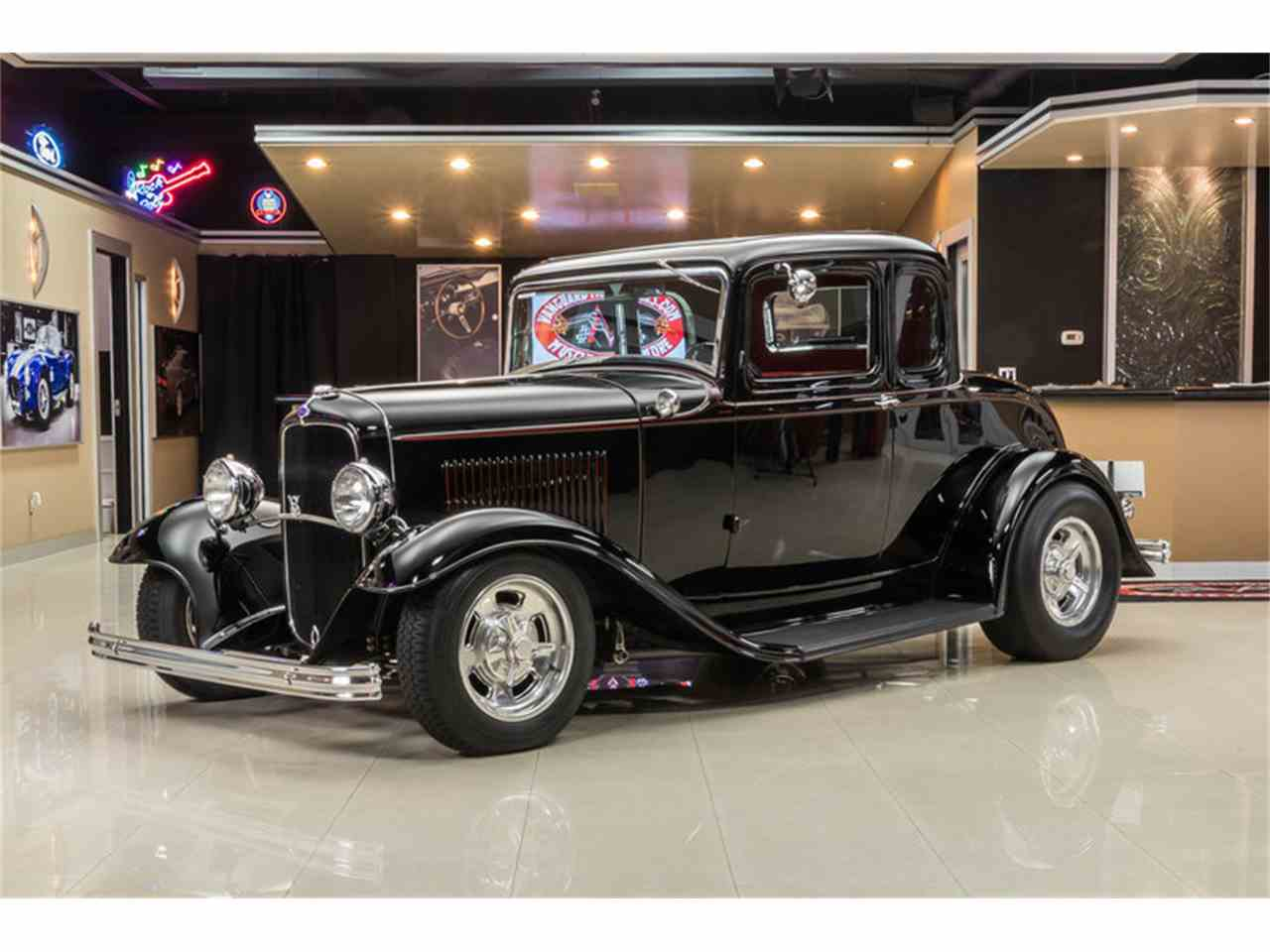 1932 Ford 5-Window Coupe Street Rod for Sale | ClassicCars.com ...
