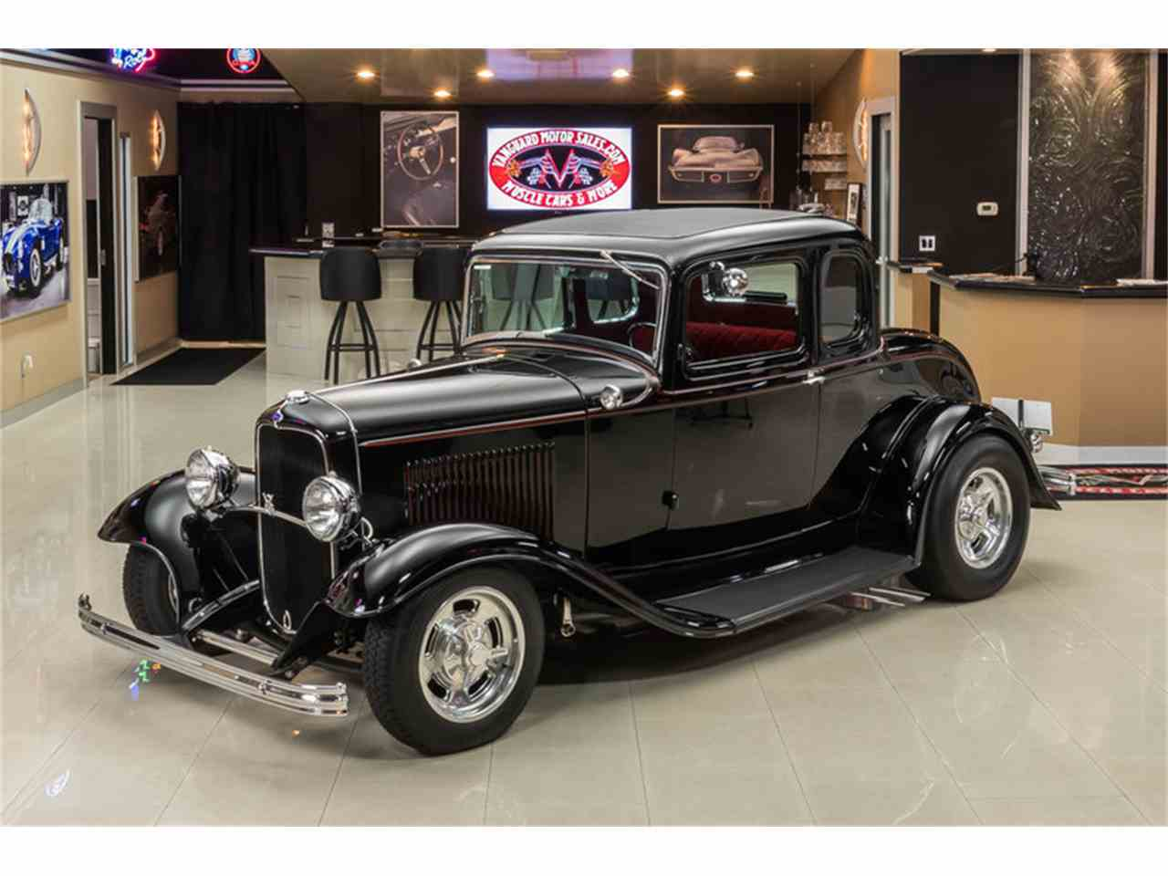 1932 Ford 5-Window Coupe Street Rod for Sale | ClassicCars.com | CC ...